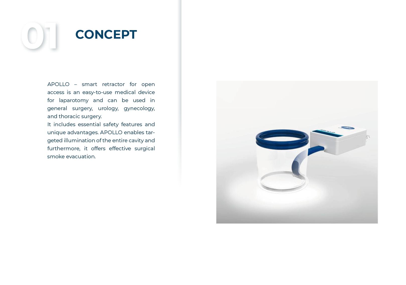 Product Brochure: Smart Retractor for Open Acces