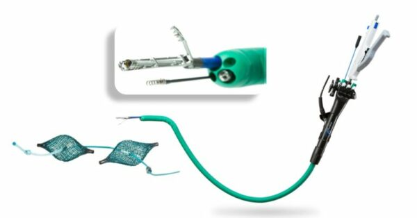 The IOP flexible four-channel tube for a small endoscope and special instruments