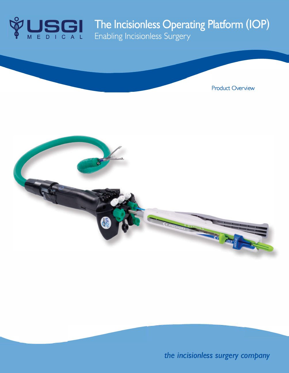 Product Catalogue: The Incisionless Operating Platform